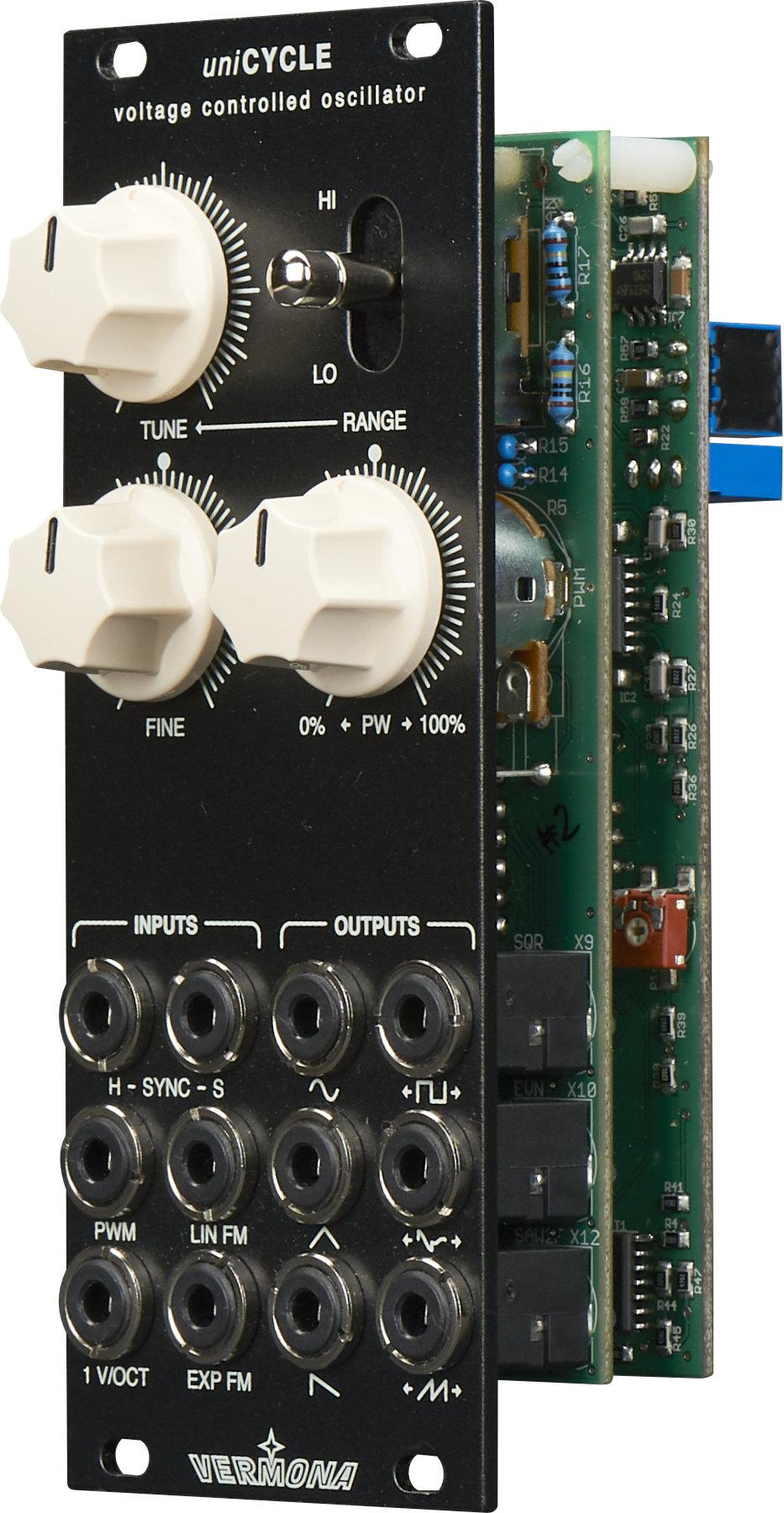Vermona Unicycle Audio Oscillators Right View